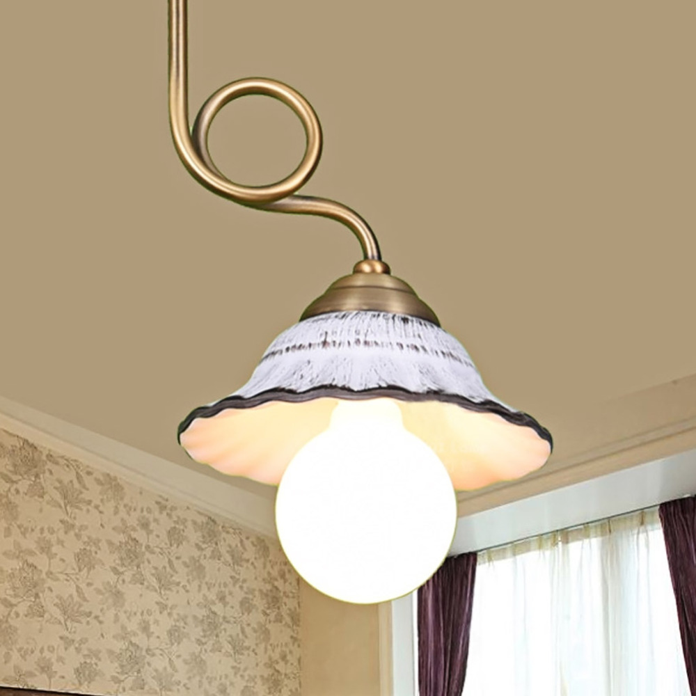 Exceptional Antique Retro Ceramic Lamp Vintage Lamp Loft Porcelain E26/E27 110 250V  Pendant Lamp Indoor Lighting Dining Lighting Fixtures