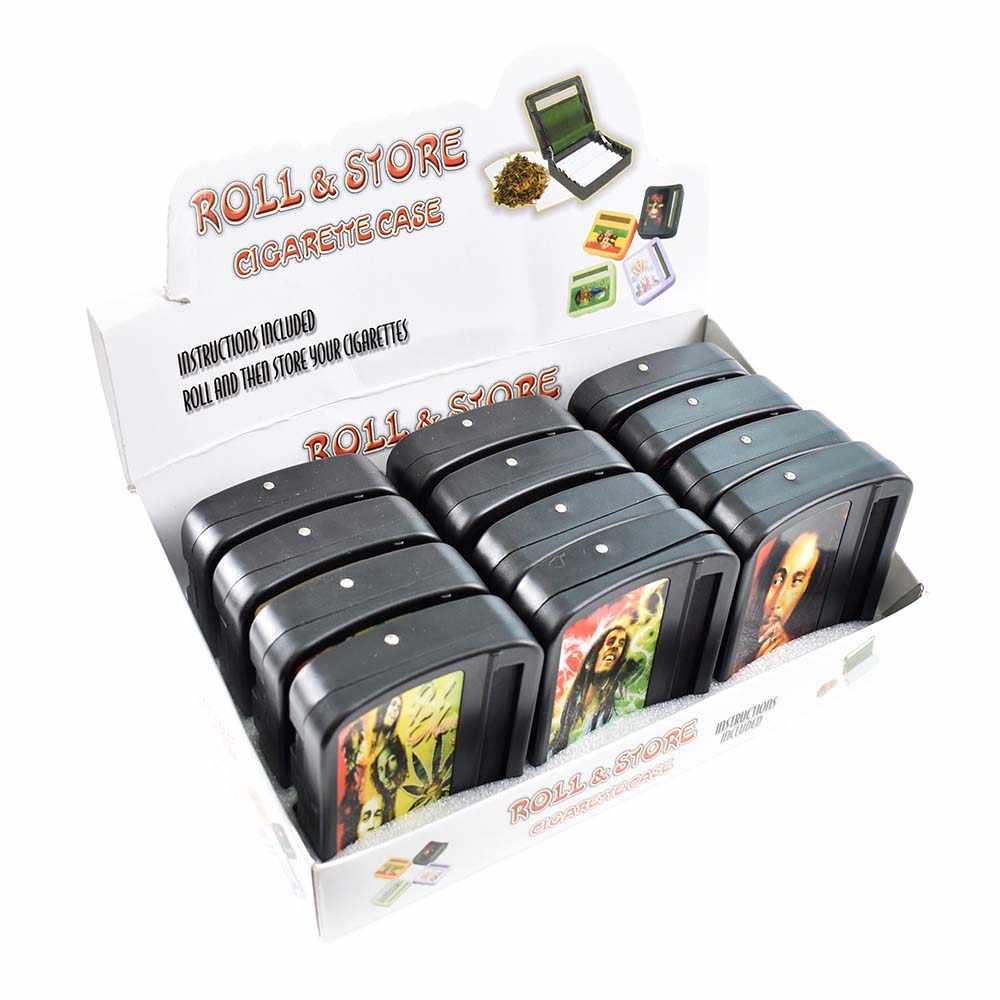 Hand Metal Rolling Machine Roller Tabak Sigaret Maker Voor Papier Joint Roller Size 70mm Blunt Cigar Rolling Sigaret Apparaat