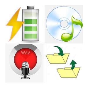 Image 3 - Mini Grabadora de Voz de Audio ultrafino para grabación de voz, profesional, Digital, HD, denoise, 100 horas