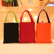 Halloween Candy Bag Gift Bags Pumpkin Trick or Treat Bags Party Decor