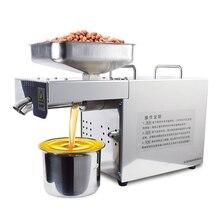 Полностью автоматический пресс для масла, коммерческий соковыжималка, соковыжималка, бытовая нержавеющая сталь, бизнес-оборудование JYY2088