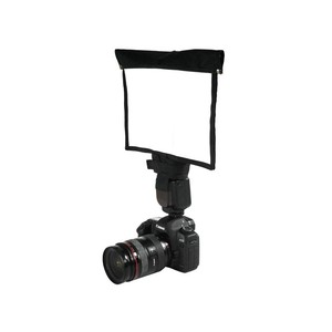 Image 2 - 5 in 1 Speedlight Flash set 3 x Foldable Speedlight Reflector + Snoot Flash Softbox Diffuser + Honeycomb grid with Carrying bag