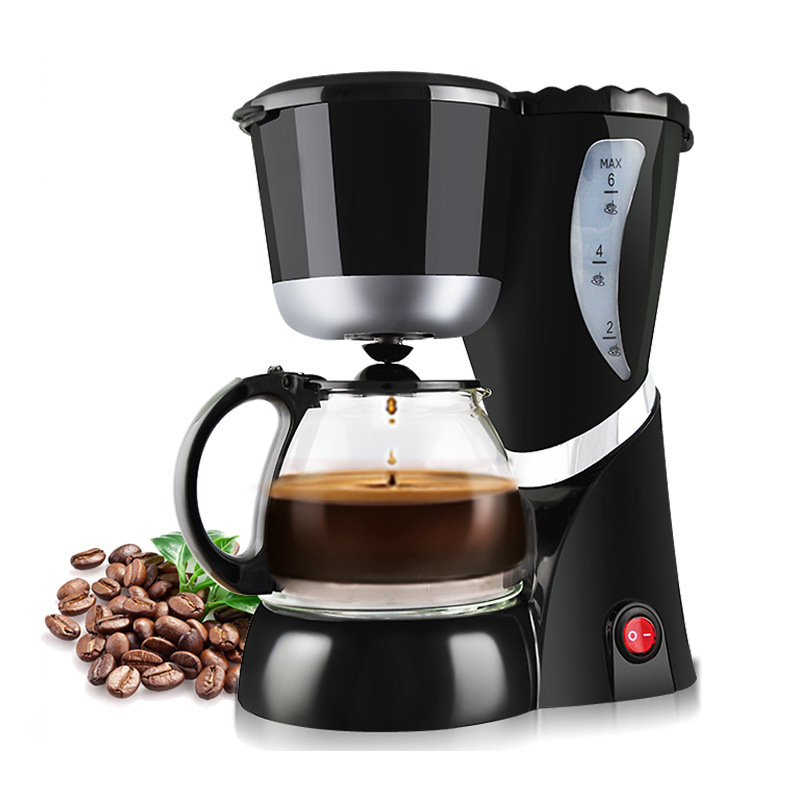 Automatic Coffee Makers DIY Drip Mini Household Coffee Machine With Cafetera Intelligent Portable Electric Cafeteira Maker household fully automatic coffee maker cup portable mini burr coffee makers cup usb rechargeable capsule coffee machine