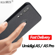 ALLORUS 2019 Soft Silicone TPU phone Case for UMIDIGI A5 Pro Full Protective Cover Shockproof