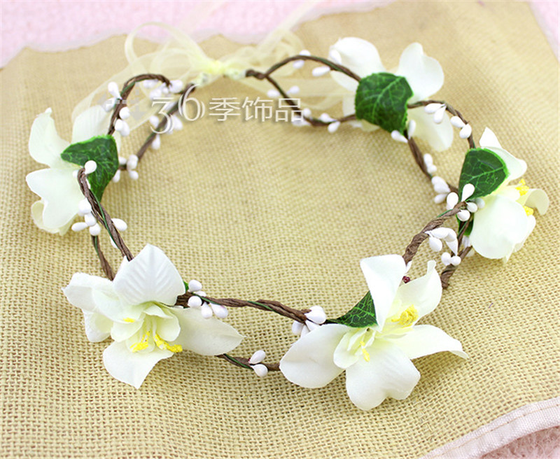 Clothing, Shoes & Accessories Hot Sale Baby Girls Floral Print Cross Hairband Let Our Commodities Go To The World Hair Accessories