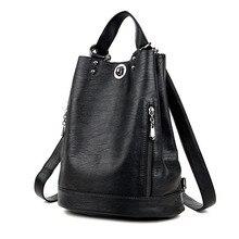 44d0fd70dbda Women Backpacks Leather Female Travel Shoulder Bag High Quality Women Bag  Fashion PU Leather Backpacks for