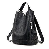 Women Backpacks Leather Female Travel Shoulder Bag High Quality Women Bag Fashion PU Leather Backpacks for Women School Bags