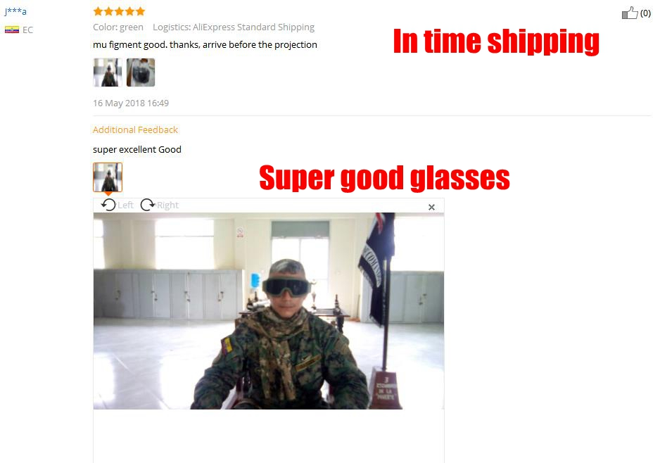 Tan preto Verde Exército USMC Airsoft Tactical Goggles Tactical óculos de  Sol Óculos Óculos De Paintball d22e3a9813