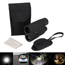 Buy online 8×32 Vision HD Optic Lens Day Night Vision Armoring Travel Monocular Telescope Tourism Scope Binoculars For Camping & Hiking