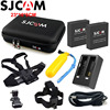 2PCS SJCAM Battery 1PCS Dual Charger For SJ6 Legend 1PCS Large Storage Bag For SJ7 Star