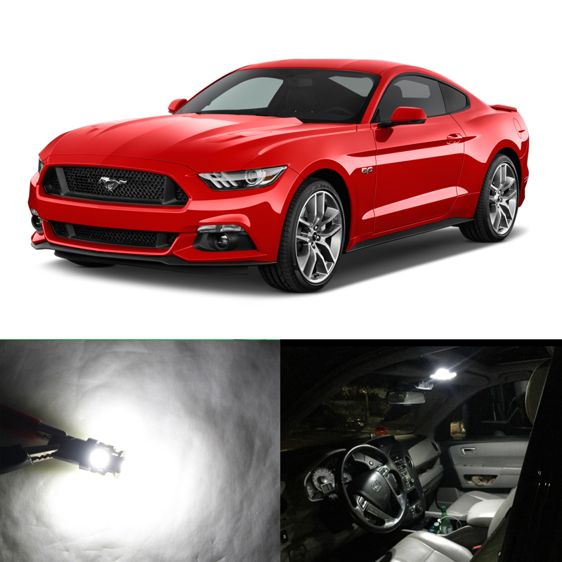 2015-2019 Ford Mustang Super Bright Map Light Glove Box Trunk 194 W5W LED Kit