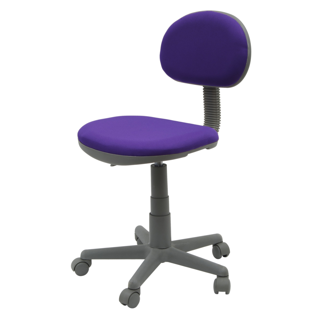 Studio Designs Home Office Deluxe Task Chair - Purple/Gray