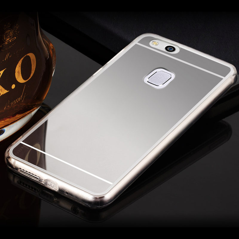 new style 4b0e6 50365 US $3.24 |NKOBEE Huawei P10 Case Huawei P10 Lite TPU Case Transparent  Silicon Mirror Hard Back Cover Huawei P10 Plus Case Clear Mirror-in Fitted  Cases ...