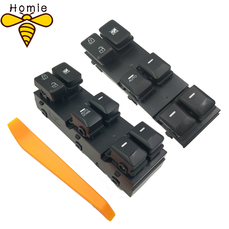 Liberal High Quality No Panel 16pins Power Window Switch For 2011-2016 Kia Sportage R Oem 93570-3w000 935703w000,car Switch With Light Non-Ironing Back To Search Resultsautomobiles & Motorcycles