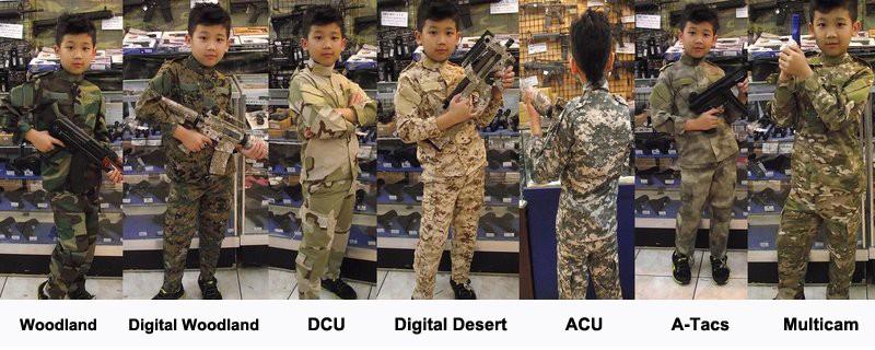 children army uniforms