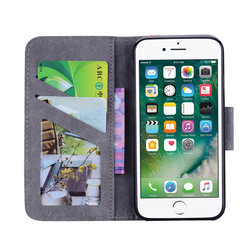Simple Business Phone Bags sFor apple iPhone X XS For Case iPhone 6 6S 7 8 Plus Hit Color Book Cover PU Leather Flip Fundas E09Z 2