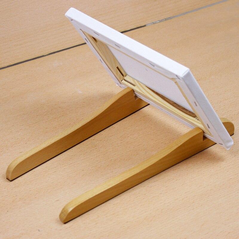 Pequeño soporte de madera caballete Marcos espesor 2.2 cm mesa/foto ...