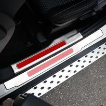 Задние панели педаль автомобильной обновлен Тюнинг автомобилей protecter украшения 13 14 15 16 17 18 для Mitsubishi Outlander