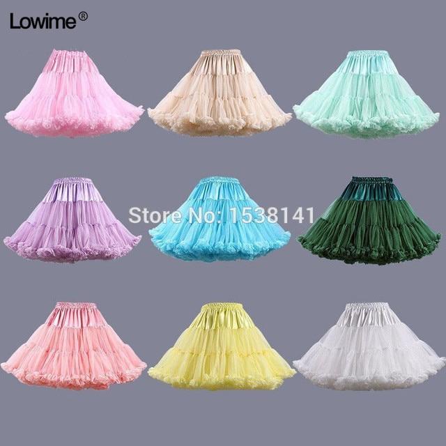 ยืดTulle Petticoatผู้หญิงTuTuสั้นกระโปรงร้อนขายงานแต่งงานอุปกรณ์เสริมสต็อกPetticoatsชุดสาว2019