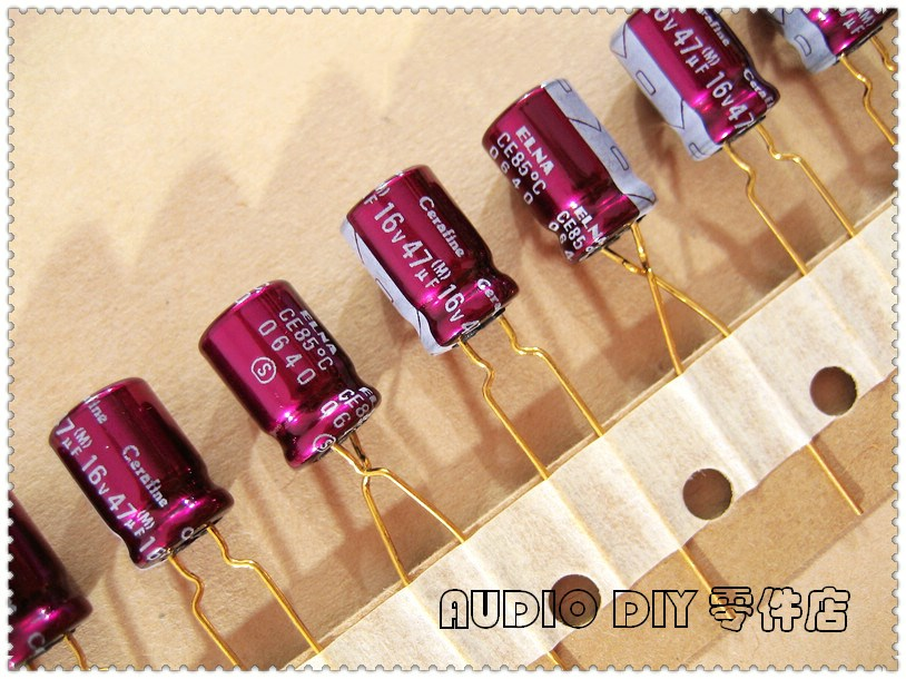 5pcs ELNA Purple SILMIC CE-BP 2.2uF//50V Audio Non-Polar Electrolytic Capacitor