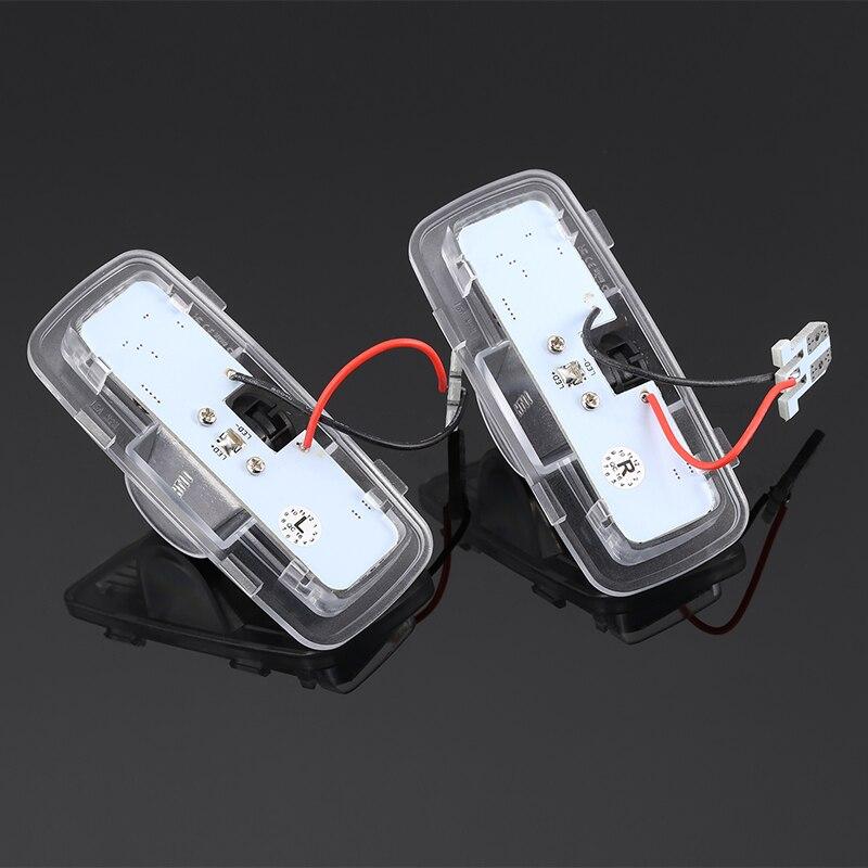 2 stücke Schatten Licht Willkommen Lampe Logo Laser Projektor Auto LED Tür Warnung Licht Für Honda Accord 2003-2013 für Cross 2010-