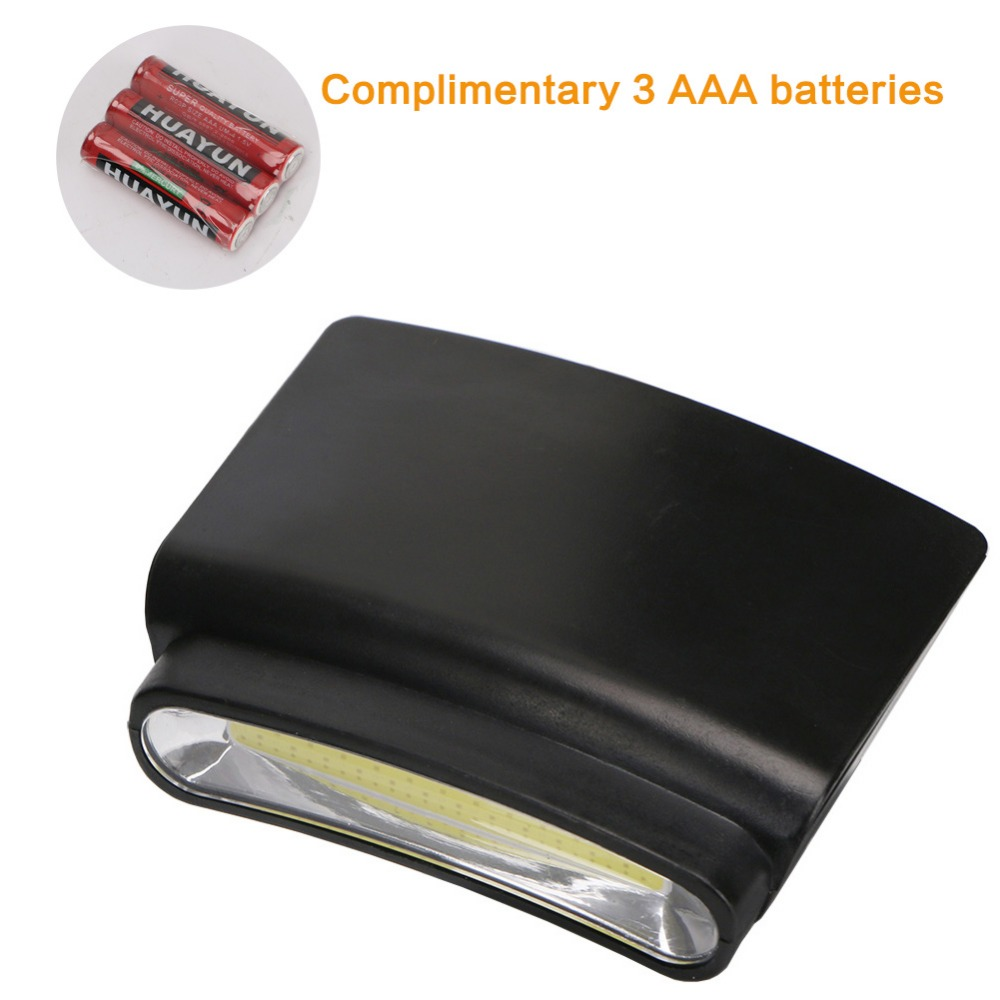 Cob Led Flashlight Clip-on Hat Headlight Camping Hiking Lamp Cap Clip Light Air Conditioning Appliance Parts Home Appliance Parts