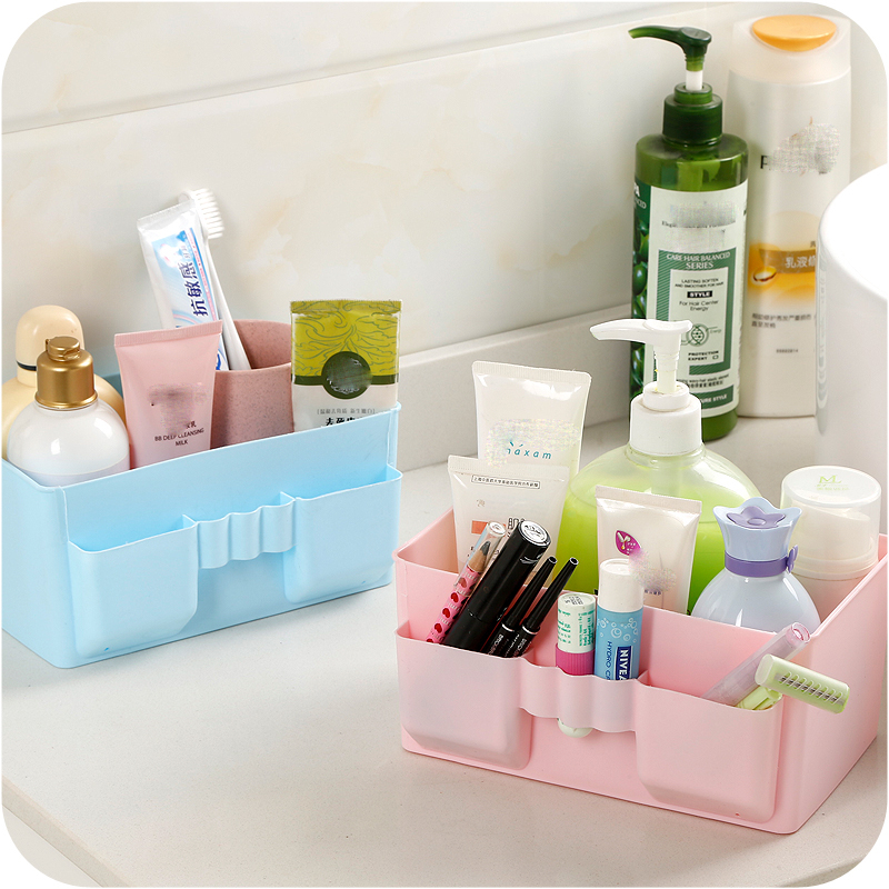 Plastic Makeup Organizers Cosmetic Storage Box Makeup Tools Organizer Case Storage Holder Jewelry Container 99