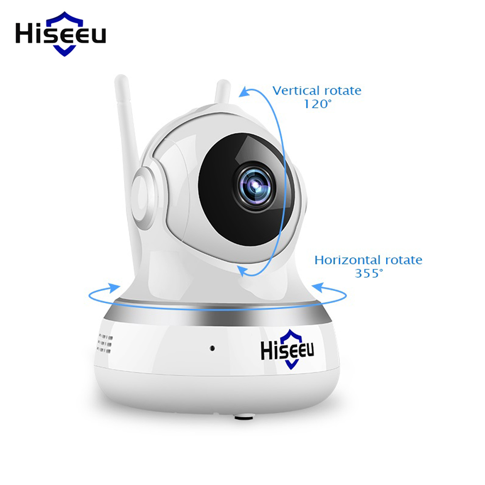 Hiseeu FE1 1080P 2MP WiFi IP Camera Video Surveillance P2P Home Security Dual-gain Antenna Cloud TF Card Storage