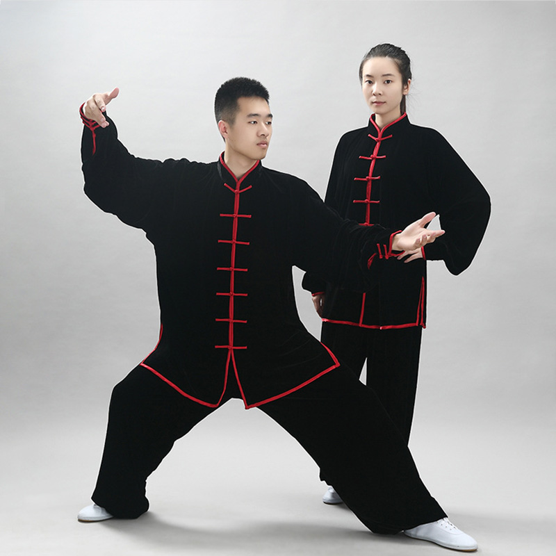 Ejqyhqr Tai Chi Uniform High Quality Wushu Kung Fu Clothing Jinsirong Practice Thickening Men And Women Spring And Autumn Suit