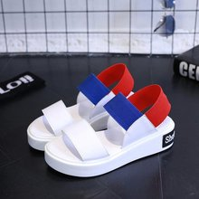 2017 New font b Women b font Beach Sandals Spring Summer Girl s Open Toe Platform