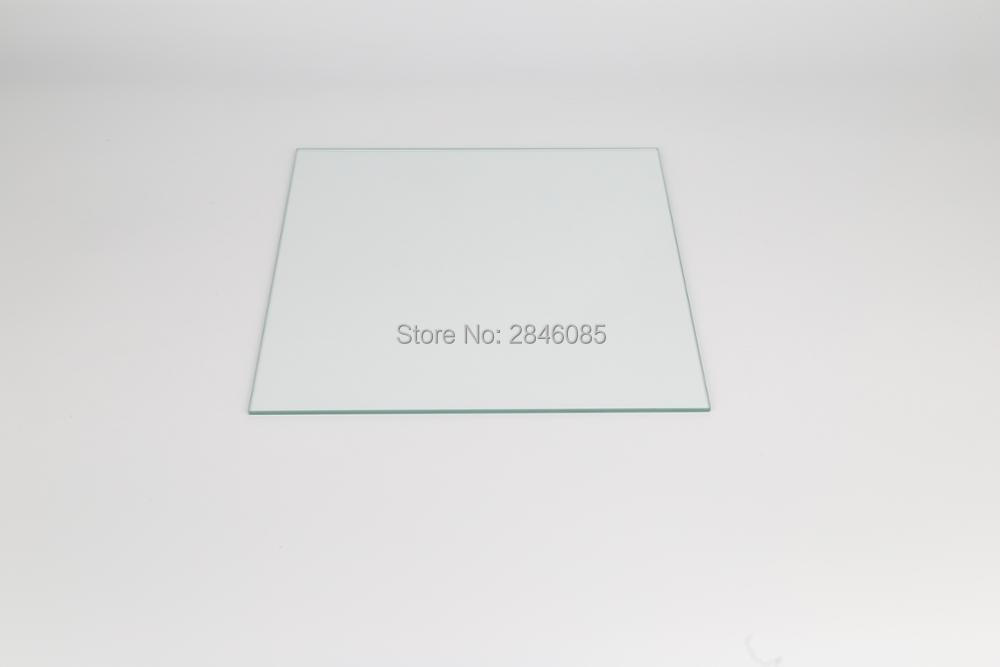 3D Printer Parts For Creality CR-10 Series Heated Bed Borosilicate Glass Plate Size 310/410/510*4mm Tempered Toughened 3d printer parts reprap delta kossel 12v 110w round pcb hexagon heated bed thickness 170mm