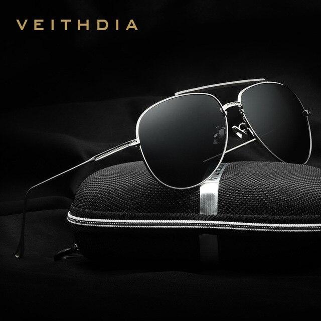 2017 New Arrival VEITHDIA Vintage Pilot Brand Designer Sunglasses Men/Women Male Sun Glasses gafas oculos de sol masculino 3616