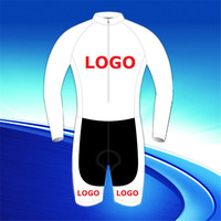 Factory Direct Sale Custom Cycling Long Sleeve Skinsuit for Men Women Kids Children Boys Girls Bike Clothes Shorts Ciclismo Ropa