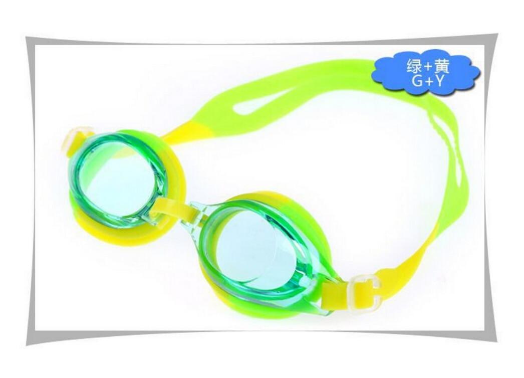 New Summer Colorful Swimming Goggles Junior Swim Kids Children Present Boy Girl