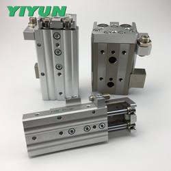 Yi Юн точности направляющего выступа пневматическая подвижная платформа MXQ12-10AT MXQ12-20AT MXQ12-30AT MXQ12-40AT MXQ12-50AT MXQ12-75AT MXQ12-100AT
