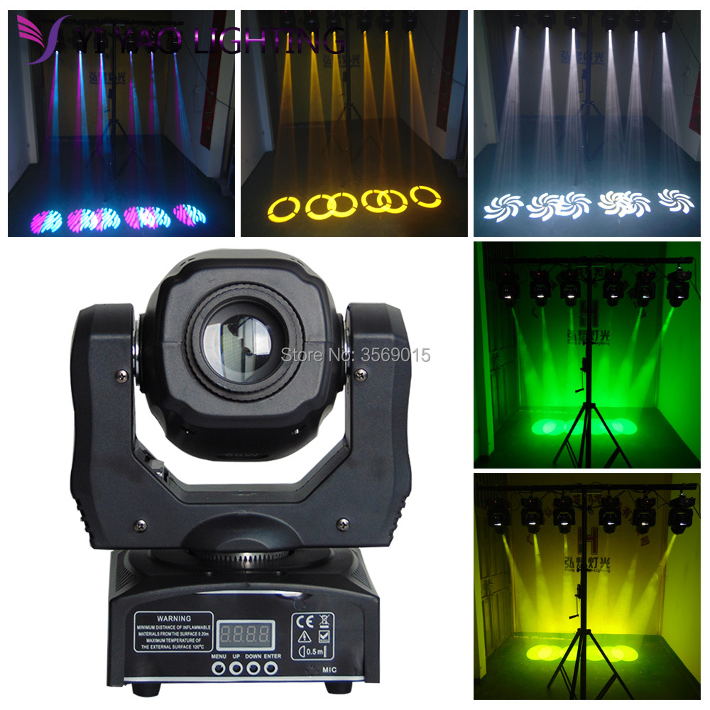 LED Mini moving head light 60w gobo dmx spot effect dj light fixtures led mini moving head light 60w gobo dmx spot effect dj light fixtures