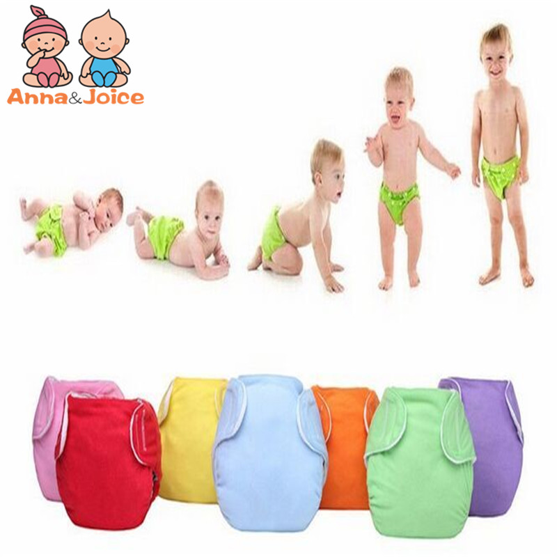 5pcs Baby Diapers/Children Cloth Diaper/Reusable Nappies/Adjustable Diaper Cover/Washable
