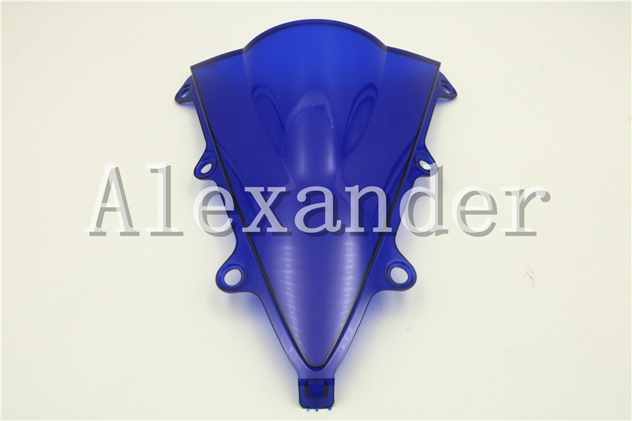 HotSale For Honda CBR300R CBR 300R 2015 2016 2017 2018 blue Windshield WindScreen Double Bubble CBR 300 R 15 16 17 18