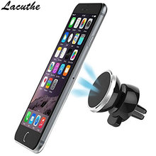 Lacuthe Universal Car Holder 360 Degree Magnetic Car Phone Holder GPS Stand Air Vent