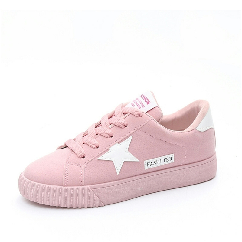 2018 New Spring Autumn Women Casual Shoes Female Ladies Girl Breathable Fashion Sport Shoes For Woman Soft Outdoor Flats shoes vtota fashion spring autumn women flats 2017 shoes woman slip on casual shoes soft comfortable women shoes new ladies shoes x48