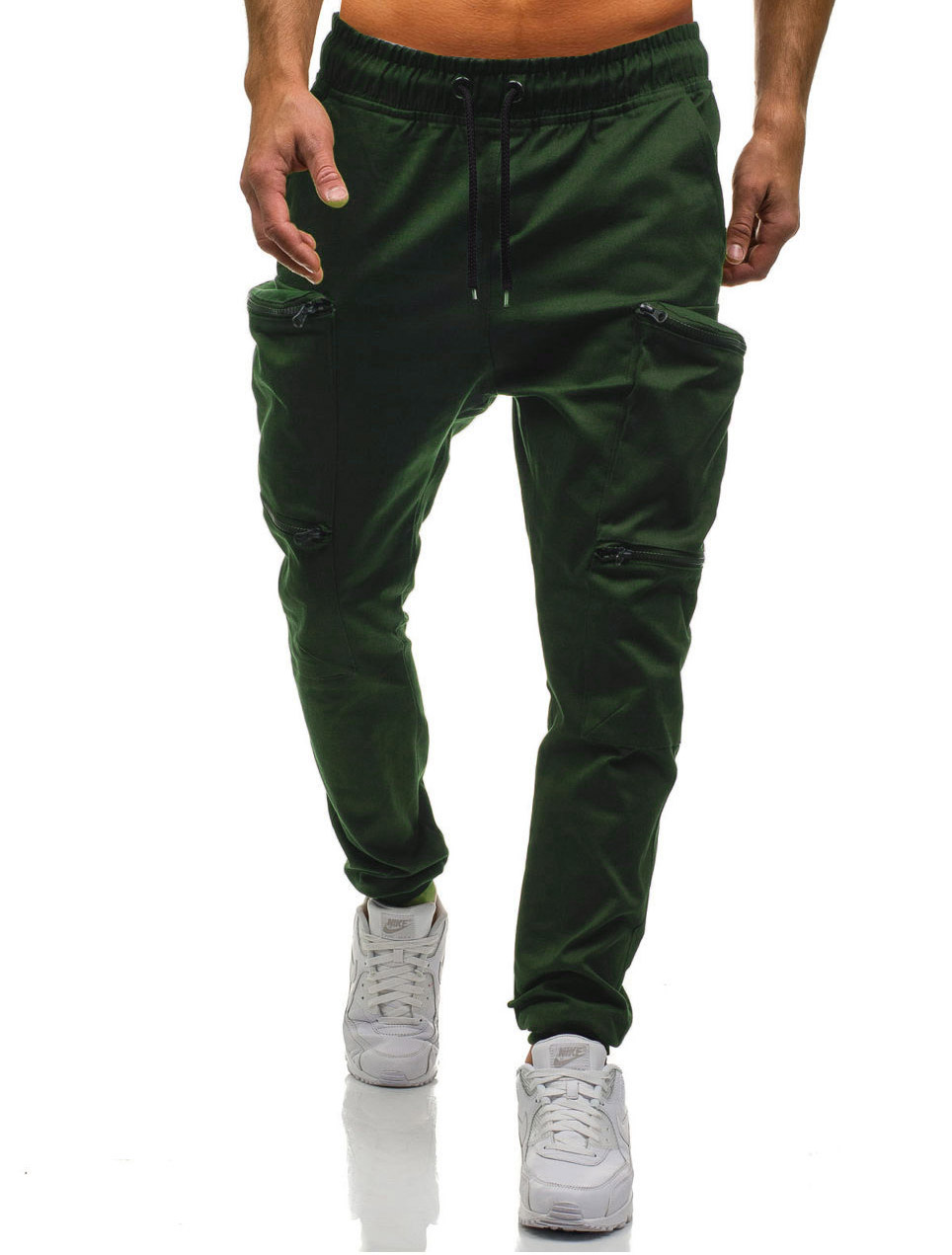 HTB1PJPjLVzqK1RjSZFoq6zfcXXag Mens Joggers 2019 New Red Camouflage Multi-Pockets Cargo Pants Men Cotton Harem Pants Hip Hop Trousers Streetwear XXXL
