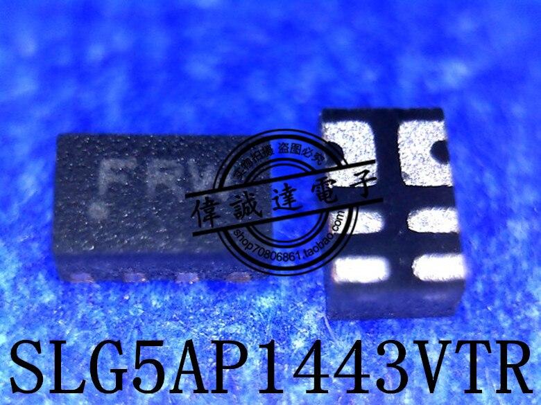 10Pcs SLG5AP1443VTR SLG5AP1443V ASP FRW QFN8 New