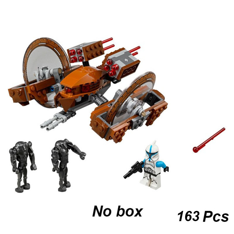NEW Star Space Wars Attack Of Clones Hailfire Droid Exclusive Figure Building Blocks Bricks Toys Children Gifts Compatible 75085NEW Star Space Wars Attack Of Clones Hailfire Droid Exclusive Figure Building Blocks Bricks Toys Children Gifts Compatible 75085