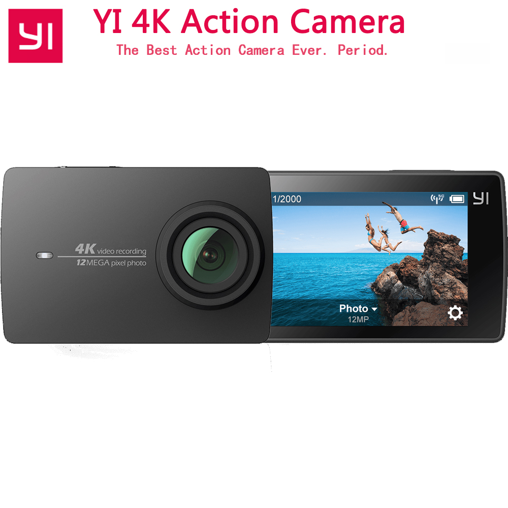 [International Edition] Xiaoyi YI 4K Action Camera Sport Camera Ambarella A9SE 2.19