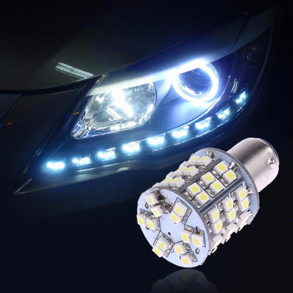 LED Auto Rear Turn Signal Light 1156 BA15S 3528 Auto Reverse/Side Marker Lamp Bulb Car-styling Light-emitting Diode Lamps 12V
