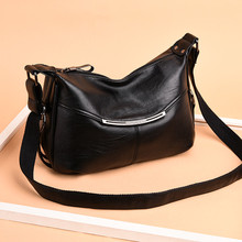 купить 2019 New Patchwork Washed Leather Female Bags Handbags Luxury Designer Lady Shoulder Crossbody Bags For Women Messenger Hand Bag по цене 1183.31 рублей
