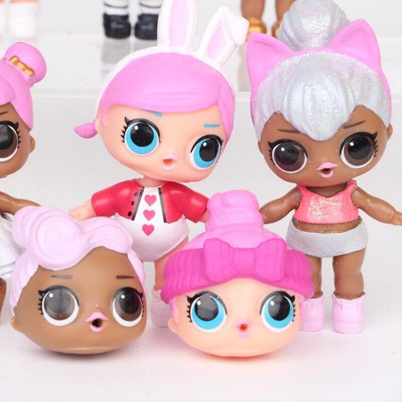 8 unids / lote LoL Desembalaje Muñecas de alta calidad Lol Dolls - Muñecas y accesorios - foto 5