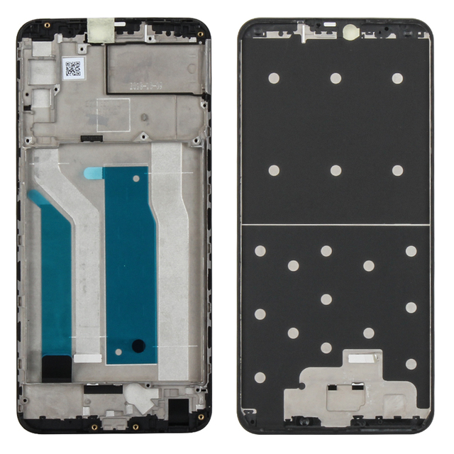 Original For Asus Zenfone Max Pro M2 ZB631KL Middle Frame Faceplate LCD Supporting Bezel Housing Replacement Repair Spare Parts