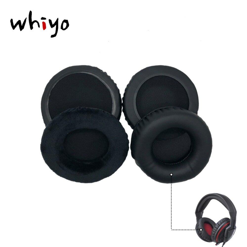 1 par de Almohadillas de Repuesto para Auriculares ASUS Orion ROG Spitfire con procesador de Audio USB 7.1 Virtual Negro