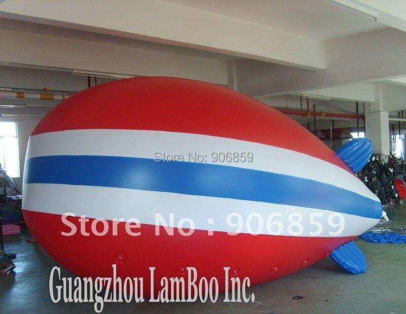 / дизайн 4 м длину Надувные Реклама гелий Zeppelin надувные дирижабль/Дирижабль для события/выставка